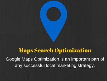 Maps Search Optimization